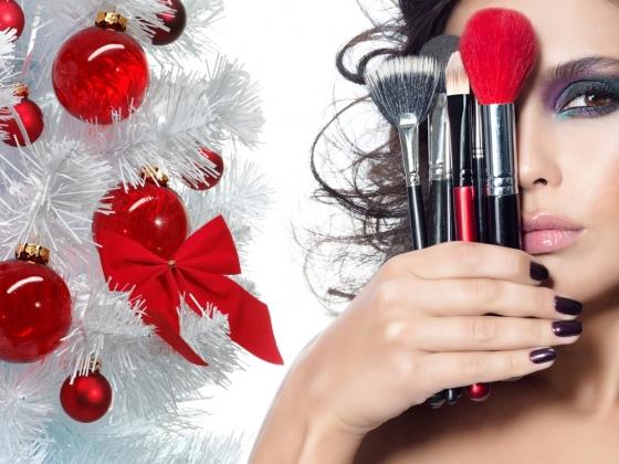 Новогодний макияж описание