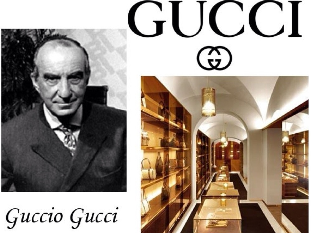 gucci brand history History and background of gucci born in 1881, craftsman's son guccio gucci founded the house of gucci as a saddlery shop in florence in 1906 guccio's first talent was his craftsmanship in leather goods.